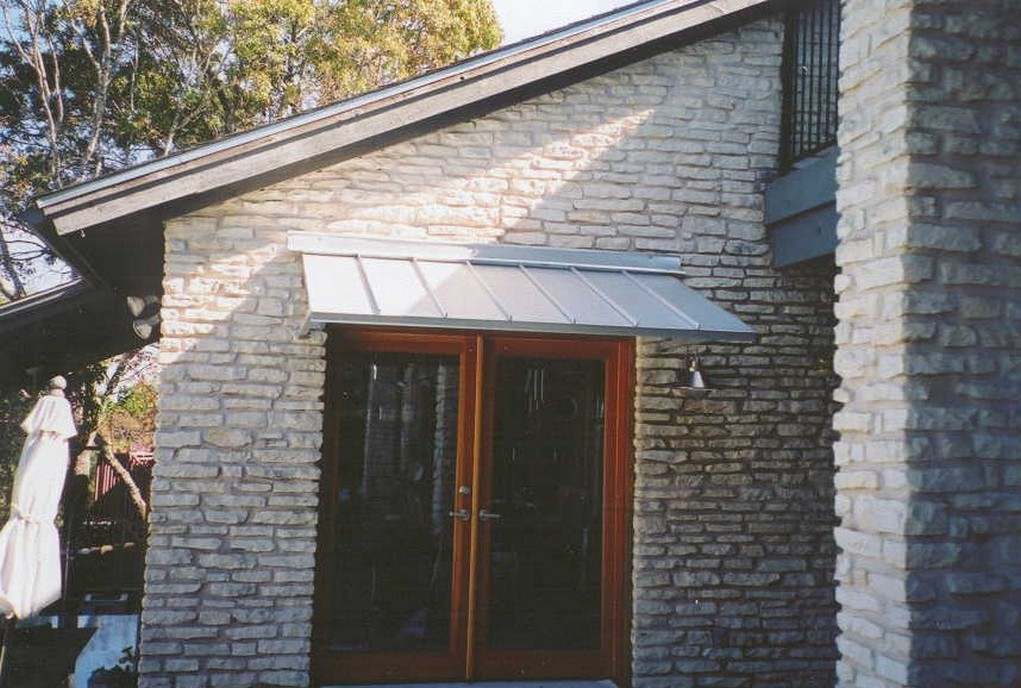 Aluminum Front Door Awnings Design