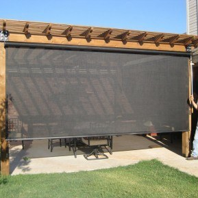 Exterior Roller Shades M Amp M Home Supply Warehouse