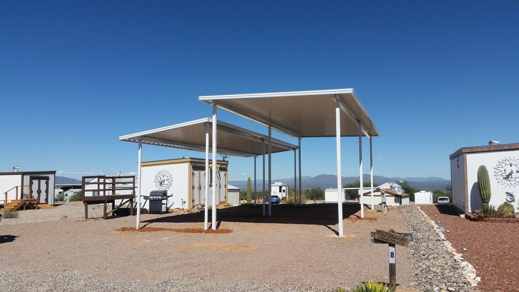 Carport and rv covers m m home supply warehouse for Rv covered parking structures